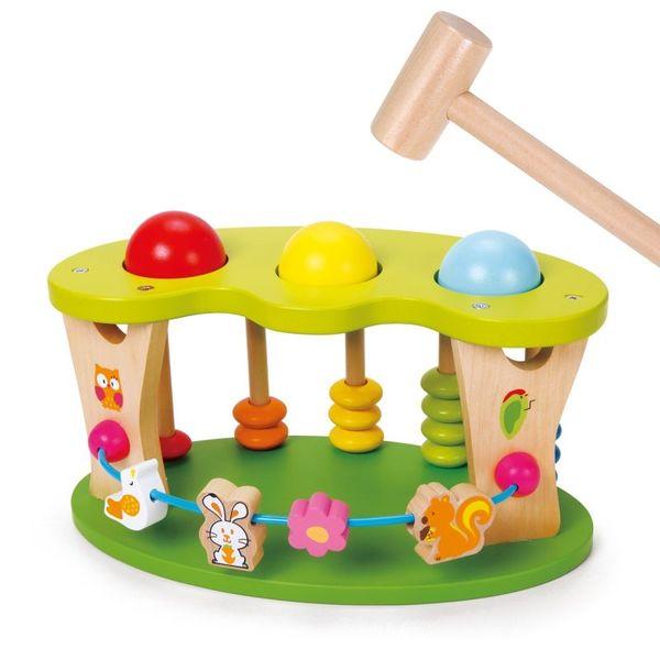 Дървена играчка за координация